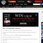 Win 1 of 10 Fright Night collections!