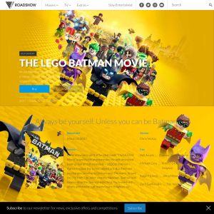 Win 1 of 10 Lego Batman pack