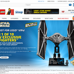 Win 1 of 10 new exclusive LEGO Tie Fighters, signed by Kirk Kristiansen, owner of the LEGO Group!