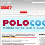 Win 1 of 10 portable refrigerated airconditioners!