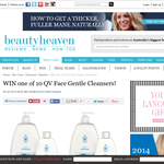 Win 1 of 10 QV Face Gentle Cleansers!