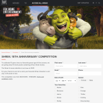 Win 1 of 10 'Shrek' movie packs!