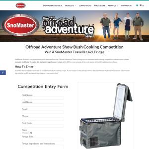Win 1 of 10 SnoMaster Traveller 42L Fridges