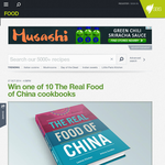 Win 1 of 10 'The Real Food of China' cookbooks!