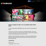 Win 1 of 10 ultimate paint party kits!