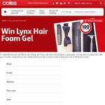 Win 1 of 100 Lynx hair foam gels!