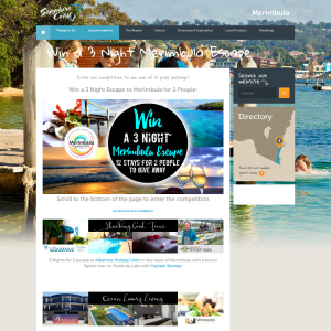 Win 1 of 12 3-night Merimbula stays for 2! (Flights NOT Included)