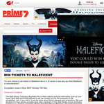Win 1 of 150 double passes to Maleficent!