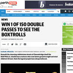 Win 1 of 150 double passes to see The Boxtrolls