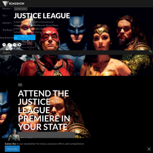Win 1 of 199 double passes to the Premiere of Justice League