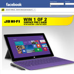 Win 1 of 2 64GB Microsoft Surface Pro 2s!
