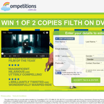 Win 1 of 2 Copies of Filth on DVD