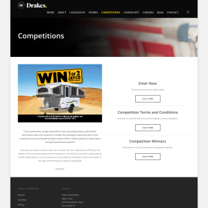 Win 1 of 2 JAYCO Camper Trailers