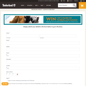 Win 1 of 2 Pairs of Timberland Shoes