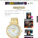 WIn 1 of 2 Pulsar rose-gold plated dress watches!