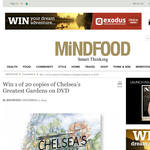 Win 1 of 20 copies of 'Chelsea's Greatest Gardens' on DVD!