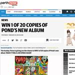 Win 1 of 20 Copies of Pond's New Album