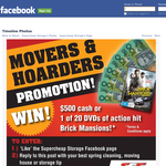 Win 1 of 20 DVDs of action hit Brick Mansions or $500
