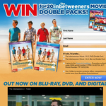Win 1 of 20 Inbetweeners movie double packs!