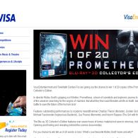 Win 1 of 20 Prometheus Blu-Ray 3D Collector's Edition!