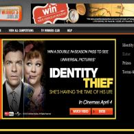 Win 1 of 250 In-Season passes to see Identity Thief
