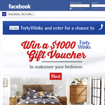 Win 1 of 3 $1,000 bedroom makeovers!
