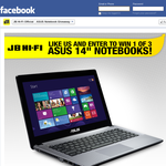 Win 1 of 3 ASUS Notebooks!