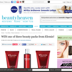 Win 1 of 3 beauty packs from Elemis!