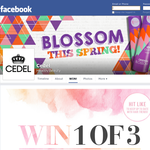 Win 1 of 3 Cedel x Daisy Chains Spring Accessory packs