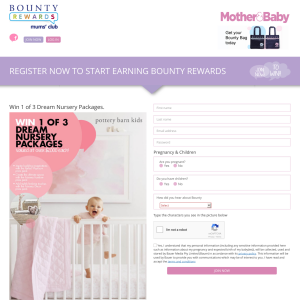 Win 1 of 3 dream Pottery Barn Nursery Packages