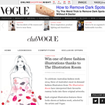 Win 1 of 3 fashion illustrations!