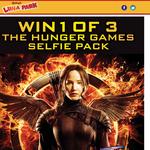 Win 1 of 3 'Hunger Games' selfie packs!