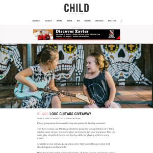 Win 1 of 3 Loog Guitars