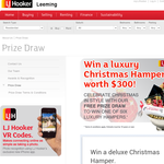 Win 1 of 3 luxury Christmas hampers, valued at $300!