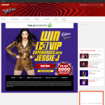 Win 1 of 3 VIP experiences with Jessie J!