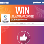 Win 1 of 30 $100 'The Strand Melbourne' gift cards!