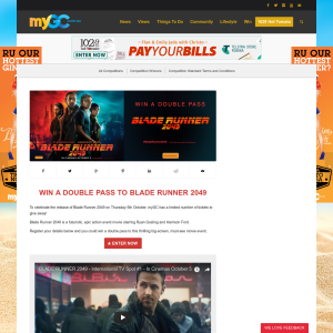 Win 1 of 30 double passes to Blade Runner 2049