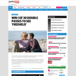 Win 1 of 30 double passes to see Freeheld