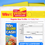 Win 1 of 4 $2,000 cash prizes!