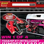 Win 1 of 4 750AMP KT Intelligent Jumper Lead Sets!