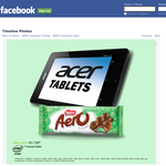 Win 1 of 4 ACER Iconia tablets & an AERO chocolate pack!