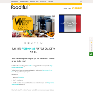 Win 1 of 4 Philips premium all-in-one cooker