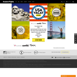 Win 1 of 4 USA trips! (18-35 Year Olds ONLY)