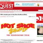 Win 1 of 40 double passes to see Hot Shoe Shuffle at QPAC!