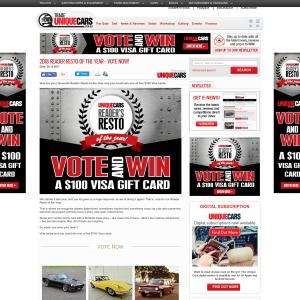 Win 1 of 5 $100 Visa Gift Cards