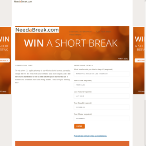 Win 1 of 5 2 night getaways at any Choice Hotel across Australia