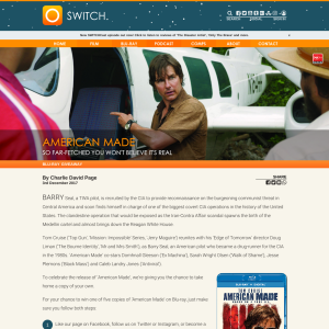 Win 1 of 5 copies of 'American Made' on Blu-ray