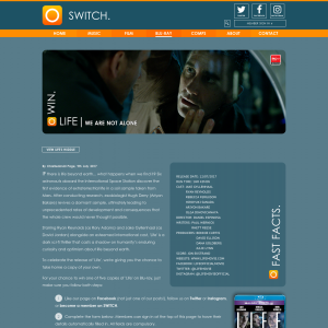 Win 1 of 5 copies of Life on bluray