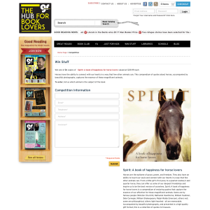 Win 1 Of 5 Copies Of Spirit: A Book Of Happiness For Horse Lovers