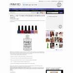 Win 1 of 5 FABY Polishes worth $150 each!